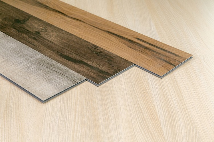 Indoor pvc vinyl flooring click synthetic wood plank buy
