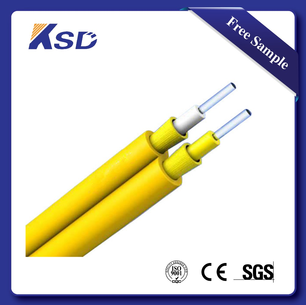 Duplex indoor fiber patch cord cable