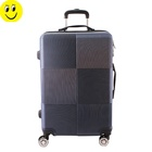 2019 New Style Color Matching Zipper Luggage High-Capacity Luggage