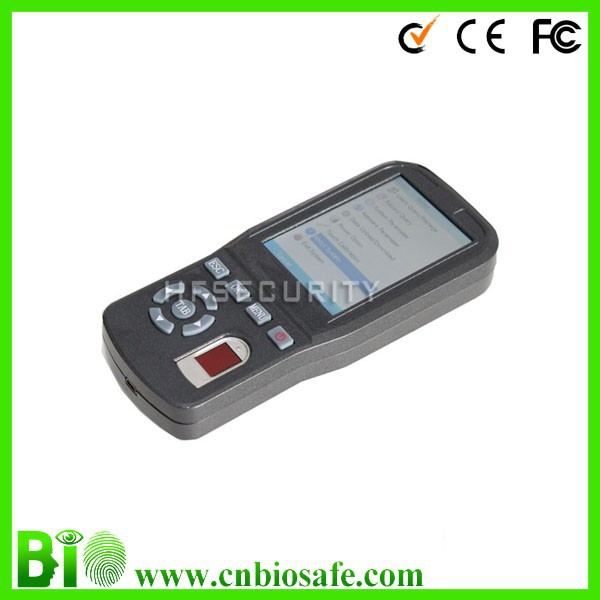 Handheld terminal with biometric fingerprint reader technologies system PH03