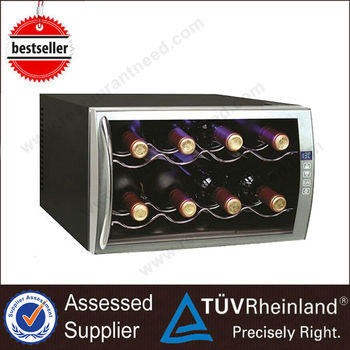 Heavy Duty Commercial Thermoelectric Decor Electric Wine Cooler