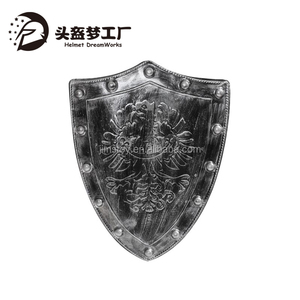 2017 European style Ancient Greek Knight dragon toy shield