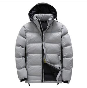 ZY2106A Slim short portable stand collar winter mens down jacket