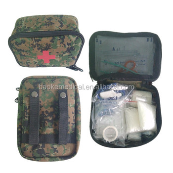 Waterproof Jungle Adventure Military First Aid Kit Bag With Belts For  Backpacks - Buy Jungle First Aid Kit,Adventure First Aid Kit,Military First  Aid