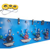 High speed PVC glass fiber measuring tape production line