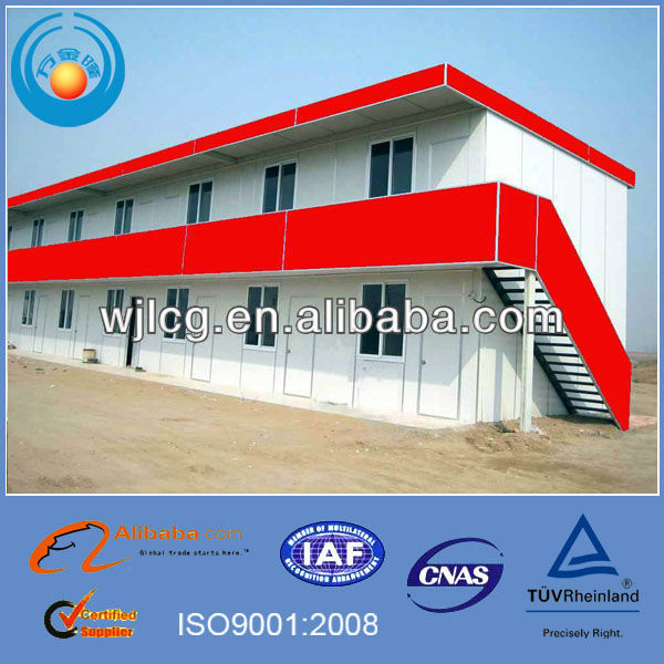 movable prefabricated prefab shed houses for apartment, office, dinning rooms