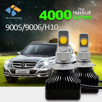 Led Car Headlight Replacement Of Lumen Halogen Light 1000 Watt ...