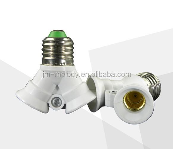 E26 E27 E40 To 3 E14 E26 E27 Gu10 Splitter Adapter Separator Lamp Holder Adaptor Converter Buy