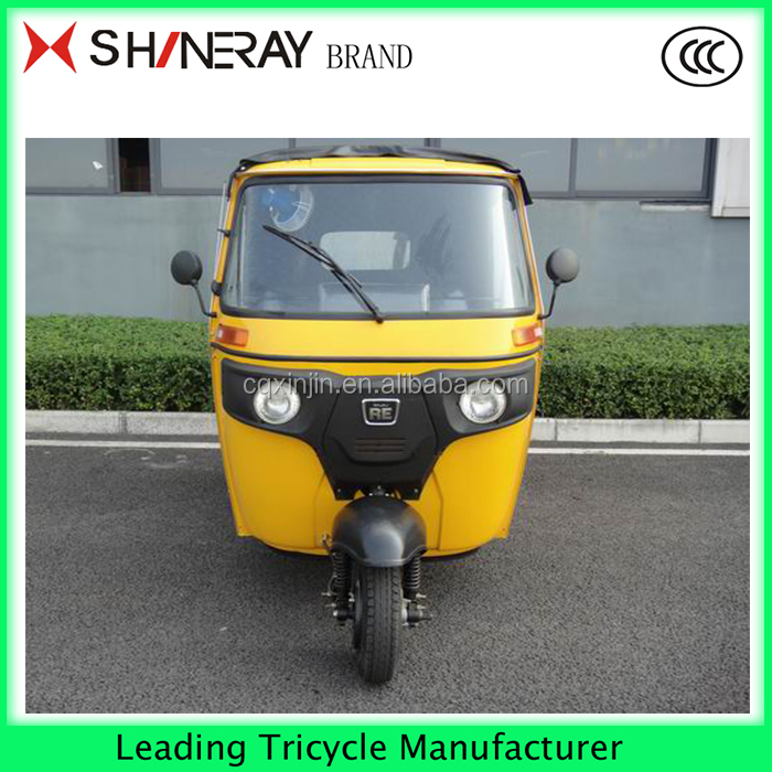 TAXI Passenger enclosed cabin tricycle / three 3 wheel bike motorcycle taxi