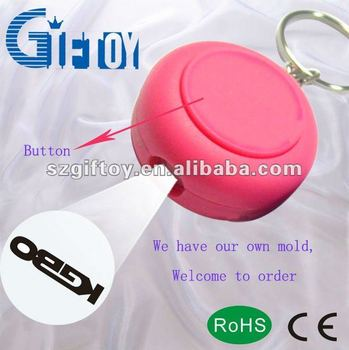 Giftoy Hot sale GT-022 Round projector customized LED key chains