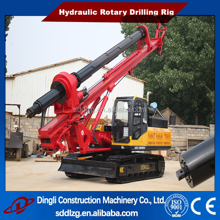 drilling equipment for oil and gas 40m construction usage
