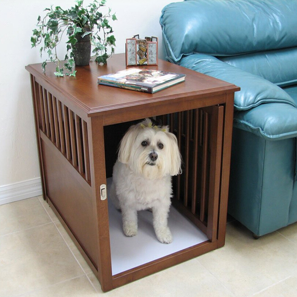 Large Indoor Dog kennel , Wooden Dog House with stairs, View Large ...