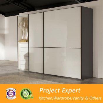 Leather wardrobe shutter aluminium glass door designs for Bedroom wardrobe shutter designs