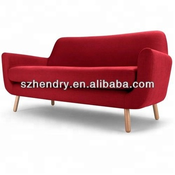 New Living Room Modern Red Cheap Wooden Sofa - Buy Sofas For Living  Room,Puff Sofa,Chenille Sofa Fabric Product on Alibaba.com