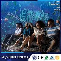 Factory wholesale well attraction machinery game machine 5d simulator movie free download