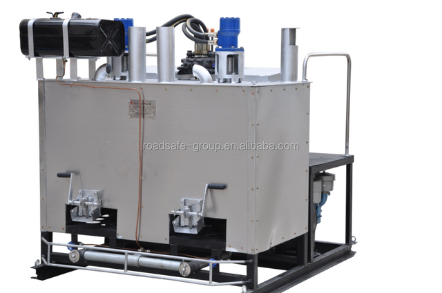 Diesel and Gasoline Thermoplastic Road Engine Preheater Boiler