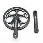 Hot Sell Chinese Cnc Driveline Road Folding Bike Crankset Bicycle Crank Arm 52t Track Parts Bike Single Speed Crankset