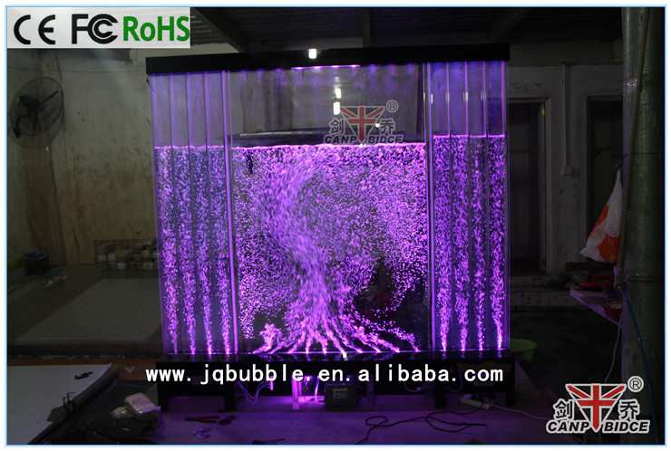 Best Interior Decorations Plexiglass Tank Custom Water Wall ...