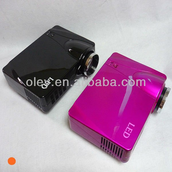 hot led projector 1080p with usb/dvb-t/sd, work with pc, laptop, dvd, tv, wii and x-box 360
