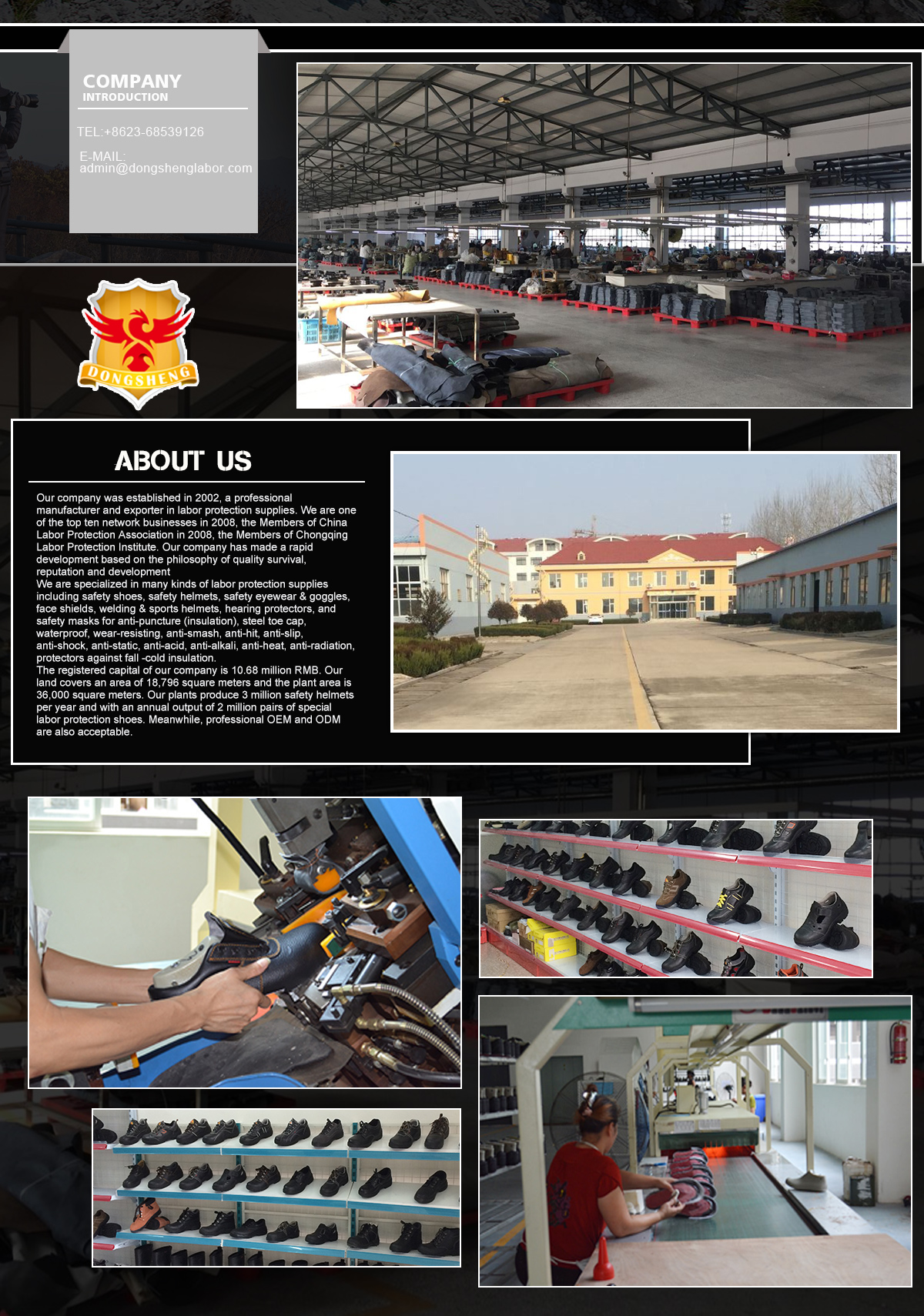Chongqing Dongsheng Labor Protection Supplies Co Ltd Military Sepatu Sneakers Pria Bbr378 Tile