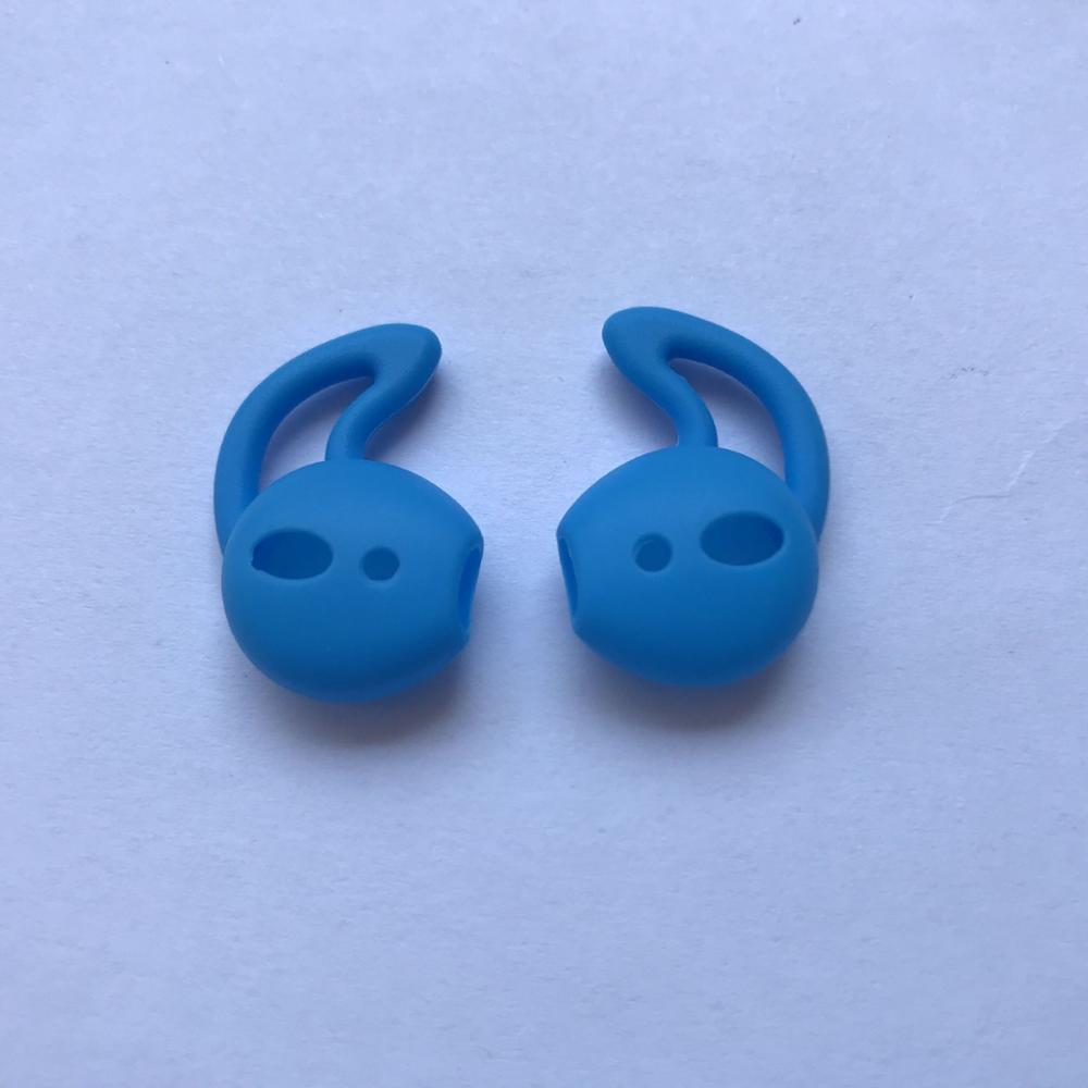 One Pair of Silicone earhook Ear Hook Case <strong>Cover</strong> for AirPod Headphones Earbuds Accessories