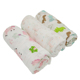 New design soft cotton gauze fabric material baby muslin swaddle blankets