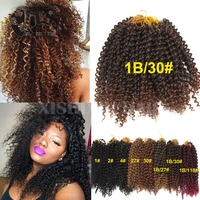 Freetress Crochet Braiding Hair jerry curly Twist Crochet Braids Hairstyle