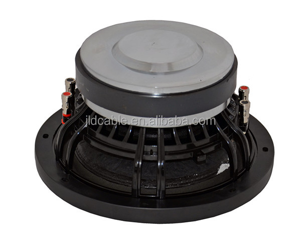 "600W Max power/300W RMS power 2.5inch-4layers voice coil 10"" inch car subwoofer with 160OZ magnet motor dc12 V"