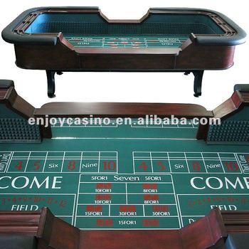 96 INCH Casino Portable Professional Craps Poker Table