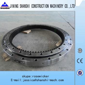 Mini Excavator Pc30 Swing Circle Slewing Bearing Slew