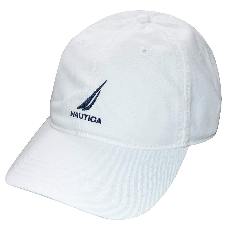 c7430183abc7c Get Quotations · Nautica Men Adjustable Logo Hat Cap