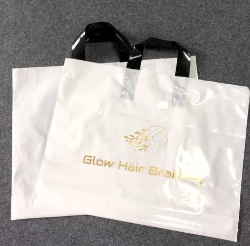 Wholesale custom PE plastic shopping bag,biodegradable plastic bag shopping plastic bag with handle