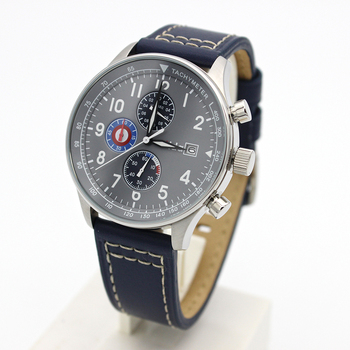 3e934b72c10503 2018 Nieuwe stijl japan beweging tachymeter custom horloge chronograaf rvs pilot  horloge voor mannen