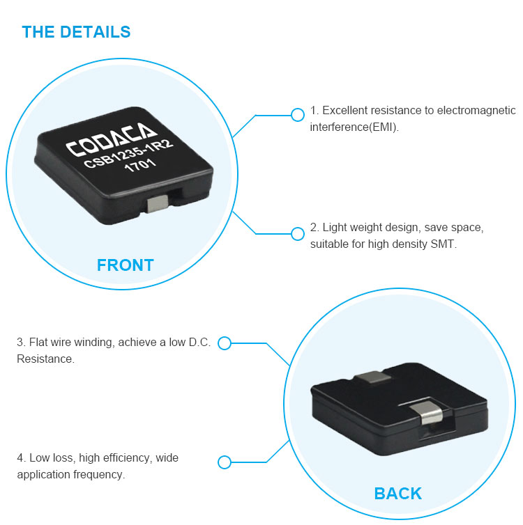 High Current Choke Coil Power Inductor - Buy Dc-dc Converter  Inductor,Inductor For Led Lighting,Inductor For Automotive Product on  Alibaba com