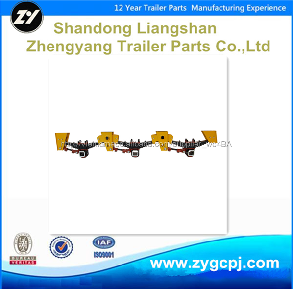 Height 230mm tridem axle suspension for vienam market
