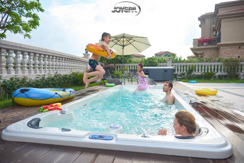 Freestanding Outdoor Above Ground Hydro Massage Swimming