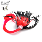 Fishing silicone skirts material silicone fishing jig skirts