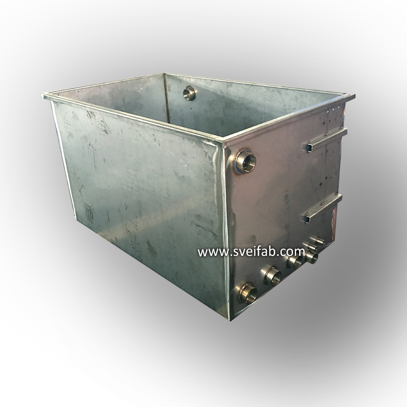 OEM Made Chemical Fuel Storage Steel Tank LM87