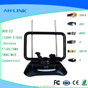 High quality Car Radio indoor Digital TV Antenna with Amplifier DVB-T ISDB-T Signal Antenna