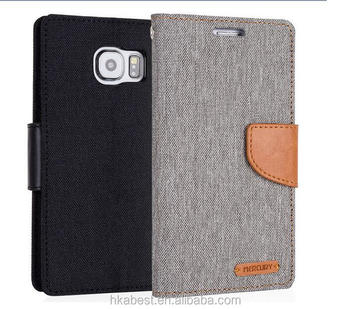 lower price with 2ca55 75a69 Canvas Diary Jeans Leather Flip Cover Case For Samsung S7 - Buy Canvas  Diary Case,Jeans Leather Flip Case,Wallet Cover Case Product on Alibaba.com