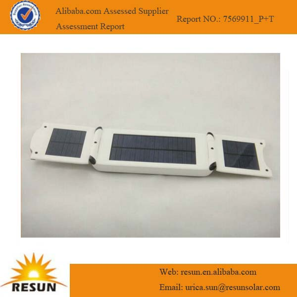 2014 newest portable, rechargeable and environmental solar charger for computer