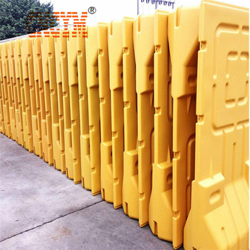 ISO9001 Plastic Water filled barrier high quality plastic blowing moulding