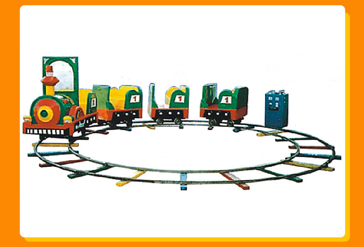 Shopping Mall Kids Ride Amusement Park Rides Track Electric Track Train Riding