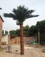 LS16072039 China manufacturer wholesale artificial decorative fake palm tree for sell