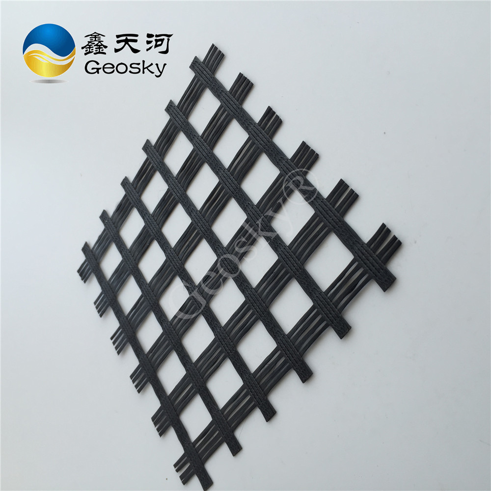 UV resistance / Cost effective pp/PET fiber geogrid made in China