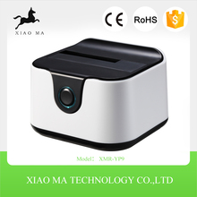 Commercio all'ingrosso SATA Docking Station Con Sata SSD Enclosure All In 1 <span class=keywords><strong>HDD</strong></span> Docking Station Driver XMR-YP9