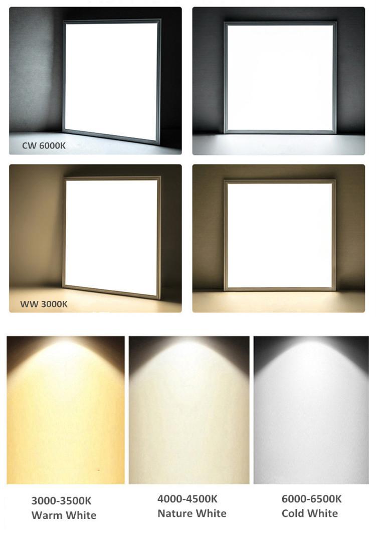 595*595 600*600 Panel Light Price 48W 40W 36W Led Panel Light
