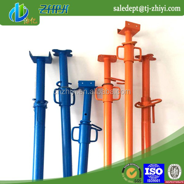 dipping paint shuttering prop post jacks / screw jack