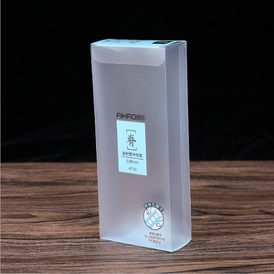 2018 Top Sale Gel Pens PP Packaging Box with Customized Printing
