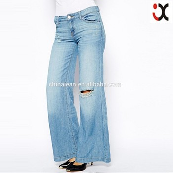 quality design latest trends of 2019 promo codes Big Straight Boot Cut Loose Denim Pants Elegant Women Flare Jeans Jxq010 -  Buy Flare,Women Flare Jeans,Women Big Size Flared Jeans Product on ...
